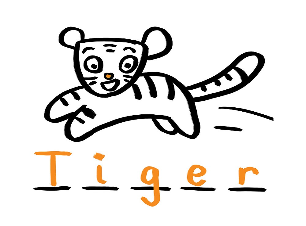 Draw Draw Tiger by DrawDraw