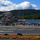 Boat Pier by Tom Gomez