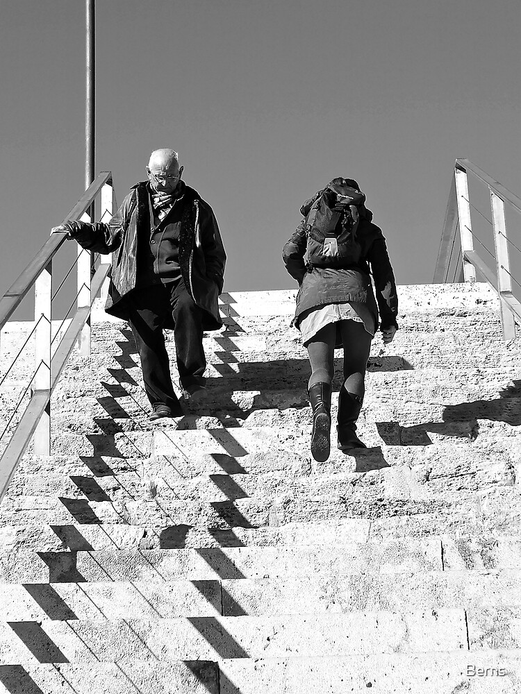 Up The Downstaircase by Berns