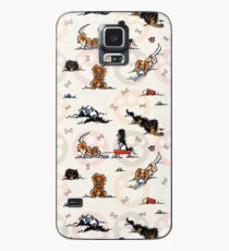 Puppy Playtime In For A Treat Case/Skin for Samsung Galaxy