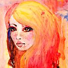 Blonde and Blue by Erin Scott