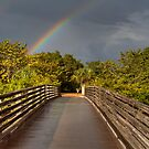 Lovers Key Rainbow by Jeff VanDyke