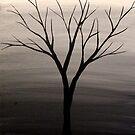 Tiny Tree Black by Erin Scott