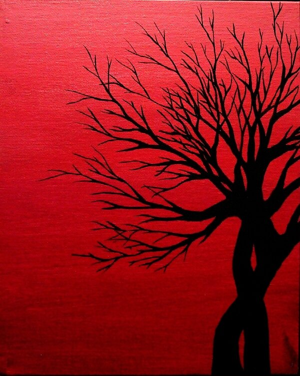 Tiny Twisted Tree by Erin Scott