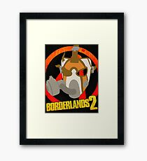 Borderlands 2 poster - Psycho  Framed Print