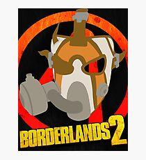 Borderlands 2 poster - Psycho  Photographic Print