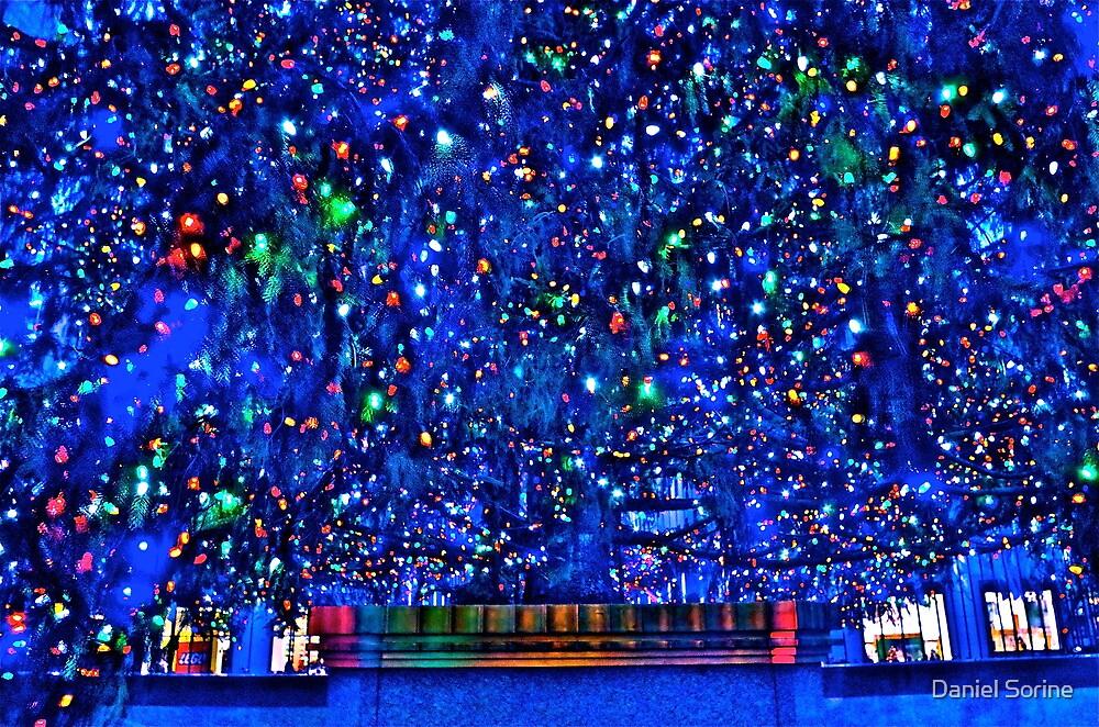 Rockefeller Center base of Christmas tree by Daniel Sorine