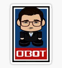 Loffrado Politico'bot Toy Robot 2.0 Sticker