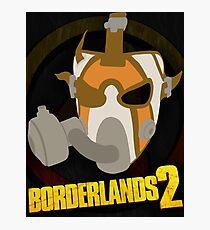 Borderlands 2 poster - Psycho 2 Photographic Print