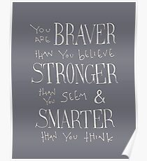 You are Braver Poster