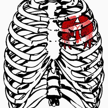 Heartbeat: Castiel by hawkandjackal