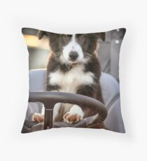 Working Dog Throw Pillow