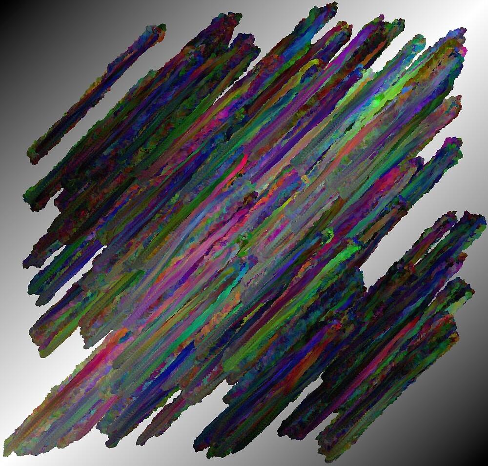 The Idea of Paint Defying Gravity by David Feldman
