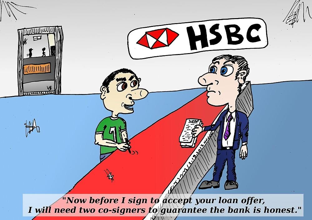 HSBS honesty guarantee caricature by Binary-Options