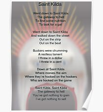Saint Kilda Poster