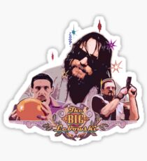 the dude and company Sticker