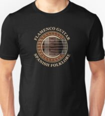 Flamenco Guitar Spanish Folklore T-Shirt