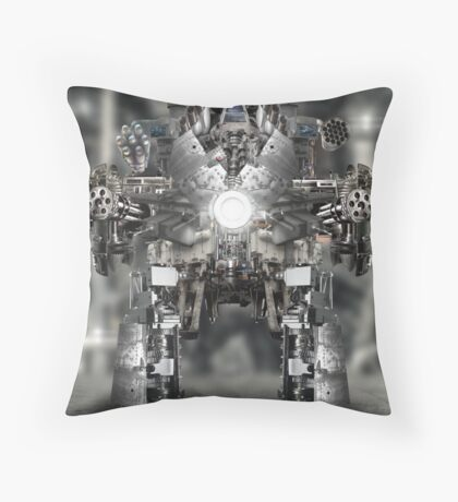 Intermech Throw Pillow