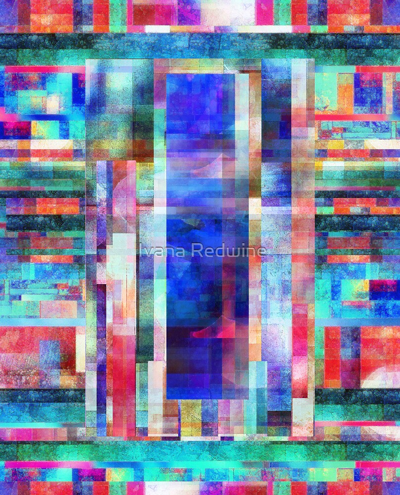 Abstract Composition by Ivana Redwine