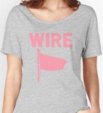 Draht - Rosa Flagge Baggyfit T-Shirt
