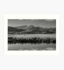 Across The River Art Print