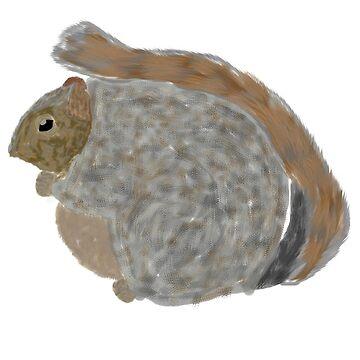 fat squirrel... el nino? by d3mentia