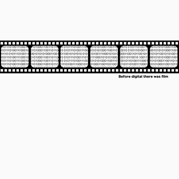 Film strip with binary code by PhillipShannon