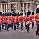 March past in Ottawa, Canada Day 2011 by John  Paper
