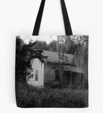 Creepy House Tote Bag