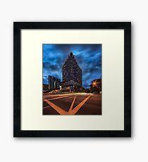 Furama City Centre Framed Print