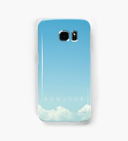 Bonjour Samsung Galaxy Case/Skin