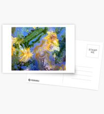 Daffodils (Red Lightning Agate) Postcards