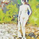 Nude in Sunglasses ~ Diane Arbus Impression by leapdaybride
