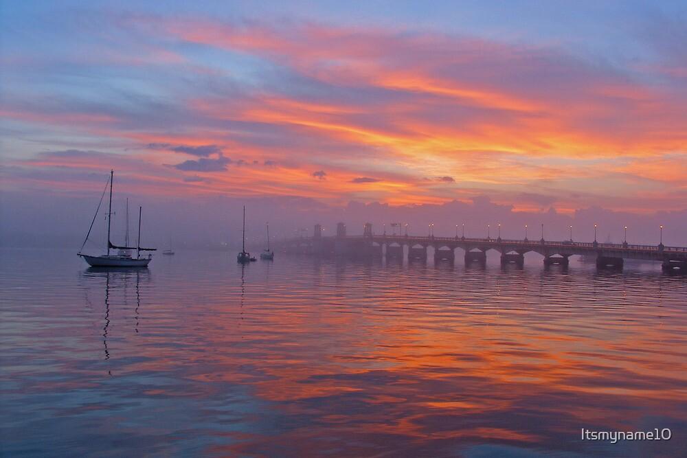 Foggy Sunrise by Itsmyname10