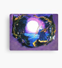 Merlin's Moon Canvas Print