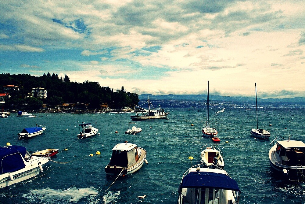 floating boats by ForeignAffairs