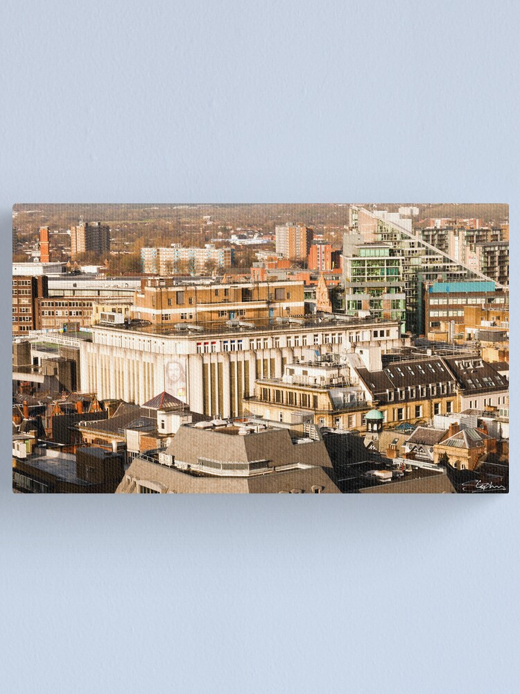 Alternate view of Manchester's Rooftops Canvas Print
