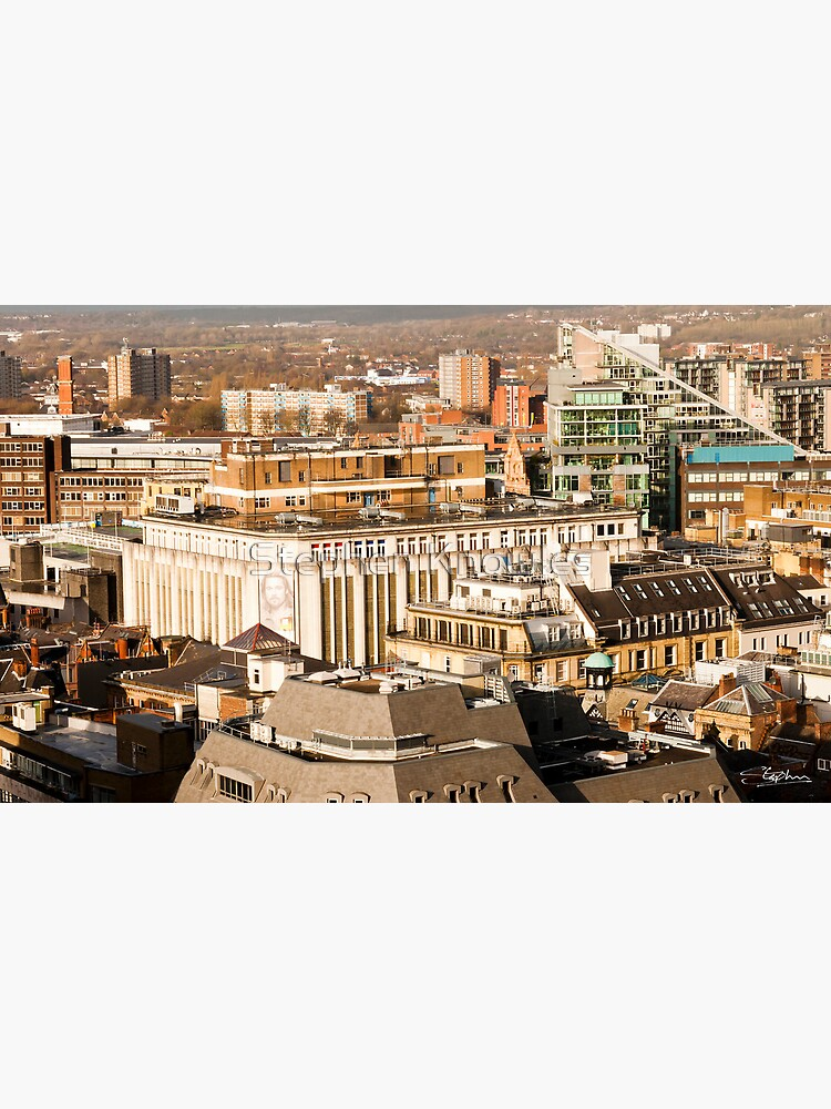 Manchester's Rooftops by stephenknowles