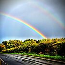 Double Rainbow! Scotland by Jessica Chirino Karran