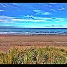Beach in Scotland by Jessica Chirino Karran