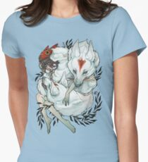 Wolf Child Womens Fitted T-Shirt