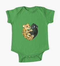 Leopard Panther Love One Piece - Short Sleeve