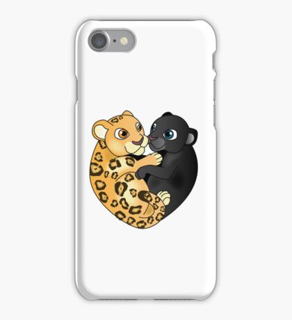Leopard Panther Love iPhone Case/Skin