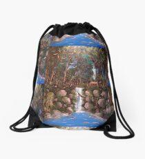 Mangle Brook Drawstring Bag