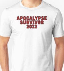 Apocalypse Survivor 2012  T-Shirt