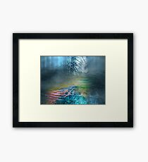 Mystery Forest Framed Print