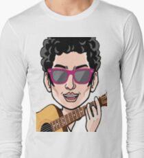Darren Criss Cartoon Long Sleeve T-Shirt