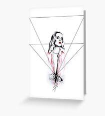 Undress Grußkarte