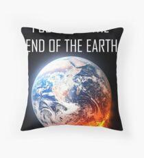End of the World Survivor Throw Pillow