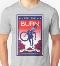 Feel the Burn retro cycling poster Unisex T-Shirt